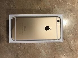 GOLD iPhone 6 16GB MINT CONDITION