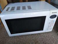 Panasonic white Microwave