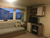 Deluxe 3 bedrooms caravans for hire in Seton Sands park 🐕 Dog friendly.