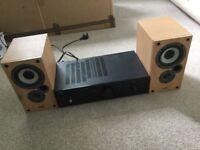Denon amp and speakers