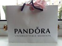 Pandora Princess Tiara Ring (New with Receipt, Un-used)