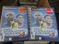 Job Lot 20 x PS2 Game Pro Evolution Soccer 4