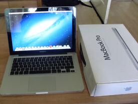 MacBook Pro 3Ghz Turbo boost i5 4Gb Ram 120GB SSD + 500GB HD latest OSX & Logic Pro X