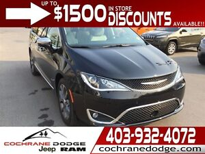 2017 Chrysler Pacifica Limited - MANAGER DEMO SPECIAL!