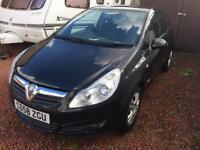 Vauxhall Corsa D 2008 1.3 diesel low 37k miles £30 year tax 12 month MOT