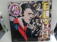 Elvis Presley LP and Beach Boys EP