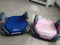 graco childrens car seats x 2