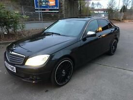Stunning 2007 57 Mercedes C180K Se 4Dr **Great Spec+Mot Dec 2017+History**