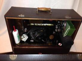 Antique Electric Singer Sewing Machine- 1947