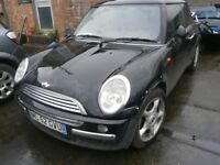 2002 MINI COOPER 1.6 BREAKING FOR PARTS
