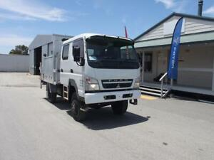 2009 Mitsubishi Canter 4x4 Crew Cab, Stock 1229 Kenwick Gosnells Area Preview