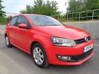 2011 VOLKSWAGEN POLO 5 DOOR HATCH, AUTOMATIC PETROL,FSH,LOW MILES,HPI CLEAR,2...