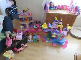 Girls toys for sale.