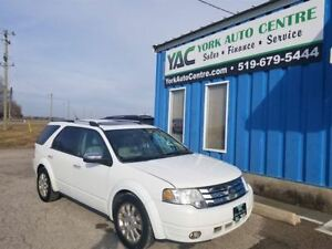 2008 Ford Taurus X Limited AWD; Sunroof, 7 Seats, Heated Lthr!