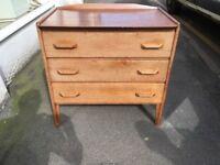 G Plan style drawers