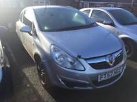 Vauxhall corsa d 2007 1.2 silver breaking