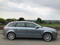 Audi S-line A4 Diesel Estate Bose sound system, leather seats 2006
