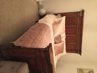 Beautiful Solid Mahogony King Sized Bed