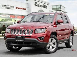 2016 Jeep Compass NORTH | DEMO | HEATED LEATHER | BLUE-TOOTH |