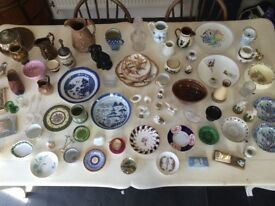Huge job lot of assorted Antique and Vintage ceramics and glass. Going cheap!