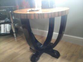 Pair of art deco tables by biedermeier