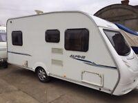 sprite alpine 20008 model 4 berth fixed bed