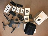 DJI Mavic Pro Drone + Fly More Combo + Extra Battery and Carry Case