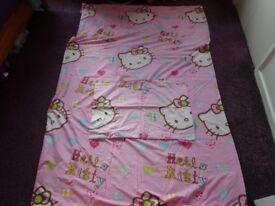 Hello Kitty single duvet set (reversible)