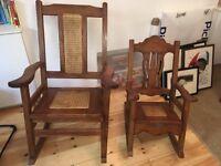 Cuban Rocking Chairs
