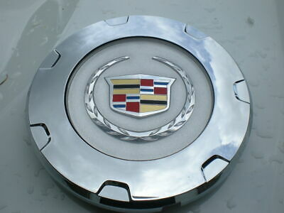 2009 - 2014 Cadillac Escalade Chrome OEM Center Cap  P/N 9597355