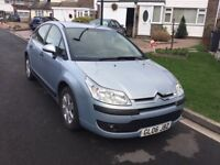 Citreon c4 sx 1.6 hdi turbo diesel 2006 facelift model 5 door hatch mot Feb 28 full service history