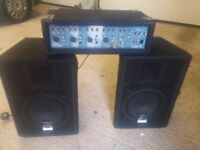 Wharfedale Pro PM 500 PA system