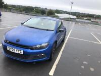 VW Scirocco TFSI in stunning blue,