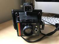 super colour swinger polaroid land camera