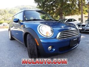 2008 Mini Cooper Clubman Accident Free! $103 bi/wkly Reduced!