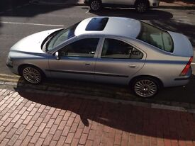 Volvo S60 2.0 T metallic blue. In very good condition and only 3 previous owners. MOT August 2017