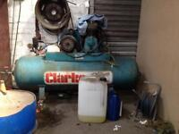 Clarke 210 litre compressor 23cfm single phase - lot of air for not a lot of money!