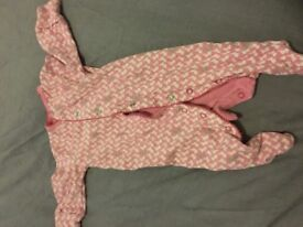 Job lot of baby girl clothes 0-6 months over 100 items