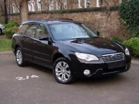 AA WARRANTY!!! 58 REG SUBARU OUTBACK 3.0 R 5dr AUTO AWD, 4X4, FSSH, 1 YEAR MOT, FULL LEATHER, FSSH,