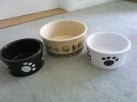 THREE DOG BOWLS
