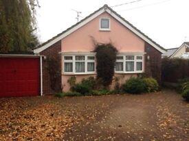 2 double bedroom detached bungalow (No longer Available)
