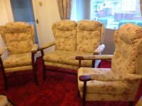 HSL 3 piece suite in great condition