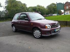 Nissan Micra 2002 **WOW! 41k miles ONLY**
