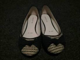 Flat Shoes Brand New Red Herring UK 6