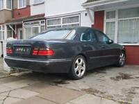 Mercedes w210 e240 v6 breaking W reg 2000 facelift dark grey Grey leather seats All parts available