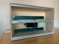 Doepfer A-100LC6 6U 84HP powered eurorack case