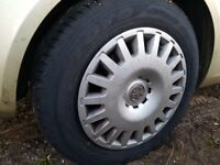 New tyres 195/65-15 fitted last week car scrapped also new condition spare