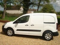 Peugeot partner *professional* sat nav 1.6 hdi 75 2016 *NO VAT* 15k miles