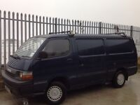 TOYOTA HIACE PANEL VAN 2.0 PETROL LWB MANUAL BLUE