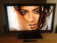 """Samsung 40"""" LCD TV Full 1080p HD with Internet Freeview 4 HDMI Sockets and 2 USB comes with remote"""